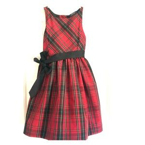 Little Girl Polo by Ralph Lauren Plaid Party Dress